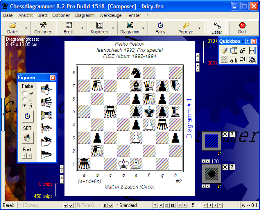 Chess Diagram creator 82_composer_de